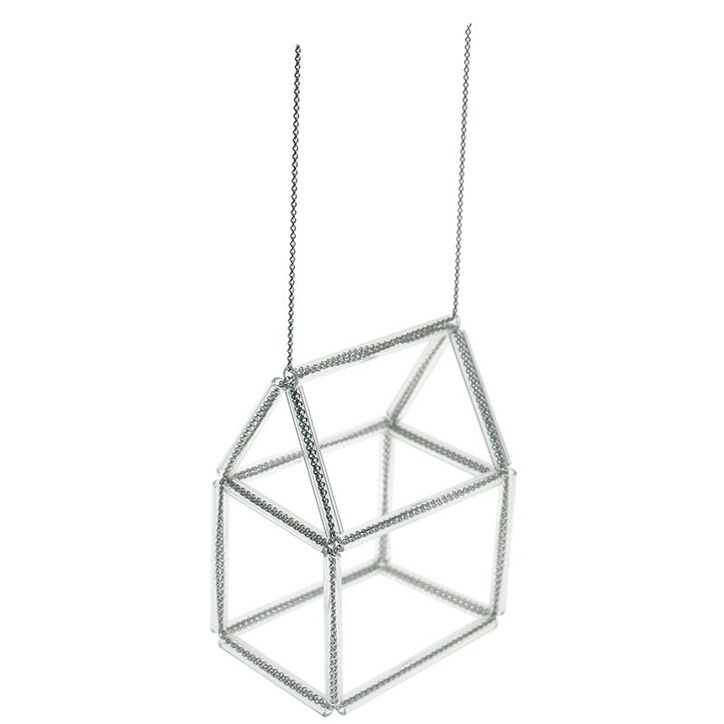 Jeannette Jansen Jewellery,hausnr., glass, silver, housenr. necklace, jewellery, jeannette jansen